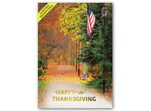 Patriotic Thanksgiving Cards
