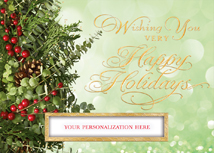 Berries & Boughs Holiday Cards