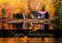 Autumn Appreciation Thanksgiving Cards